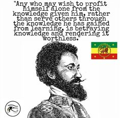 Wisdom of Rastafari Rastafari Quotes, Rastafari Art, L Quotes, True Quotes, Quotes To Live By, Haile Selassie Quotes, Rastafarian Culture, Rasta Art, Spirituality