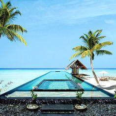 Maldives. honeymoon please.