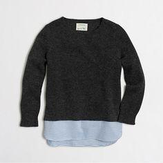 <ul><li>Viscose/nylon/merino wool.</li><li>Long sleeves.</li><li>Hand wash.</li><li>Import.</li></ul>