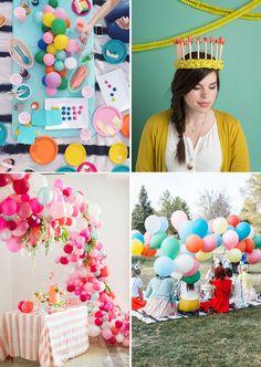 Favorite birthday party DIYs and recounting birthdays past