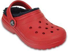 979a4445280cd Crocs Classic Lined Boys  Clogs