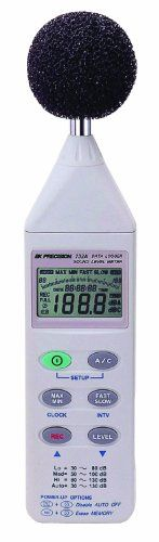 http://homeimprovementtools.info/bk-precision-732a-digital-sound-level-meter-with-rs-232-capability/- Whether you are testing for OSHA compliance quieting equipment or monitoring the roar of a stadium crowd B and K