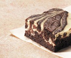 Cream Cheese Swirl Brownies.  139 people rated this and it has 5 stars (the highest mark)