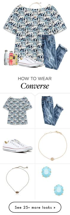 """""""•day 2• last day of school//"""" by leawhite on Polyvore featuring Tory Burch, Casetify, Kendra Scott, MAC Cosmetics, Too Faced Cosmetics, Astley Clarke, J.Crew, Converse and schoolsoutmadiandashe"""
