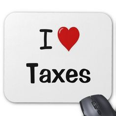 $$$ This is great for          	I Love Taxes - I Heart Taxes Mouse Pad           	I Love Taxes - I Heart Taxes Mouse Pad We provide you all shopping site and all informations in our go to store link. You will see low prices onHow to          	I Love Taxes - I Heart Taxes Mouse Pad Here a great...Cleck Hot Deals >>> http://www.zazzle.com/i_love_taxes_i_heart_taxes_mouse_pad-144115850310056525?rf=238627982471231924&zbar=1&tc=terrest