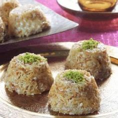 Halawet Ahmad is an Arabic dessert prepared  from coconut. Simply #Omani #cuisine #dessert that can be prepared in 15minutes.