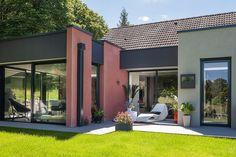 Un pavillon moderne