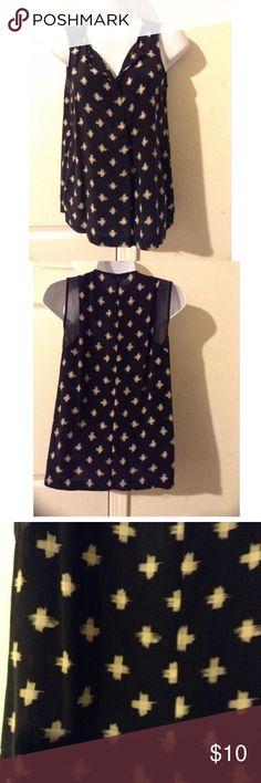 Madewell Cross print blouse Madewell Tops Blouses