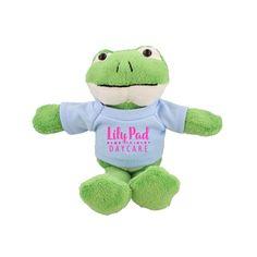 AK187FROG - Mascots Frog - Promotional Toys & Stuffed Animals #marketing #advertising #frog