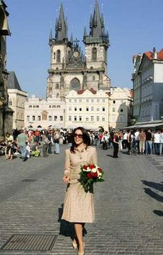 Crown Princess Mary in Prague or I could take her place if you like!