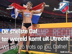 Dafne Dekkers De snelste ter wereld - Goud Utrecht Huldiging