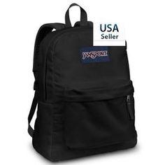 New 100% Authentic Jansport Backpack Black Superbreak, Ships from USA #Authentic #Jansport #BackPack #Bag #BookBag #School #Bags #Forsale #ebay @ebay