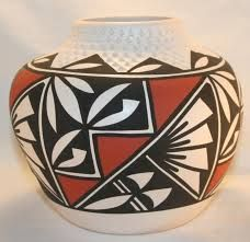 painted pottery - Buscar con Google