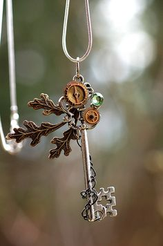 Nature's Zen Key Necklace by KeypersCove on Etsy  https://www.etsy.com/listing/97959755/natures-zen-key-necklace?ref=v1_other_1