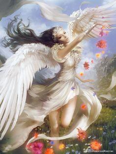 Angel Fantasy Myth Mythical Legend Wings Warrior Valkyrie Anjos Goth Gothic