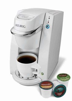 #Keurig B30 Mini Personal Single-Serve Coffee Maker Brewing System, White    The B30 Mini Brewer is ideal for college students living in dorms or out of town business trips.