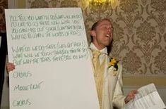 Best Man Speeches - here's what you should say in your Best Man Speech and tips for delivering your speech when you're not comfortable speaking in public. #wedding #bestman #bestmanspeech #weddingspeeches #weddingtoasts