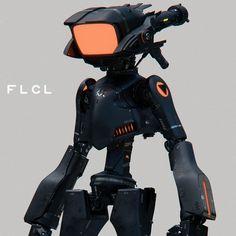 FLCL -canchi-, shun endo on ArtStation at https://www.artstation.com/artwork/LxZ6l