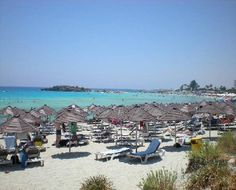The Beach in Ayia Napa Cyprus