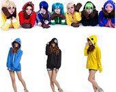 New Vocaloid Matryoshka miku Len Rin Gumi Cosplay Costume Top coat Hooded Jacket