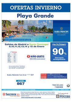 Playa Grande (Rep. Dominicana) 90% Bahía Príncipe San Juan, salidas en Enero desde Madrid ultimo minuto - http://zocotours.com/playa-grande-rep-dominicana-90-bahia-principe-san-juan-salidas-en-enero-desde-madrid-ultimo-minuto/