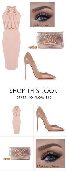 """""""Sin título #19"""" by anniet-1 on Polyvore featuring moda, Christian Louboutin y Chanel"""