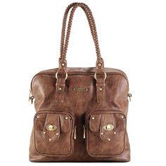 850f65b8dda0  160 Rachel 7-Piece Bag Set - Caramel. Set features  Clutch for mom s