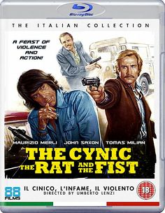 THE CYNIC THE RAT AND THE FIST BLU-RAY 88 FILMS ITALIAN COLLECTION