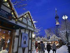 Marché de Noël allemand à Sapporo, Hokkaido, Japon