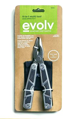 Eco Packaging for Evolv Tools- I designed while at Sears Holdings. Ellen Tave Glassman