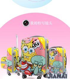 eBay Spongebob luggage