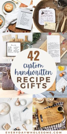 Grandma Gifts, Gifts For Kids, Heirloom Recipe, Food Gift Cards, Gift Guide For Him, Engraved Gifts, Wooden Gifts, Cutting Boards, Recipe Cards