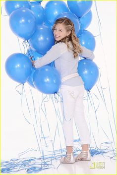 jackie bevancho and balloons.