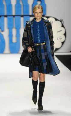 button panel...shiny details  >>>  Anna Sui fall 2012