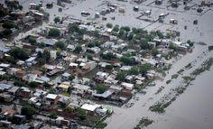 Inundacion en ciudad de la Plata, Buenos Aires