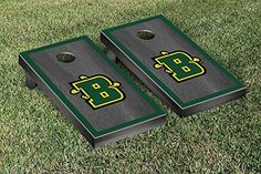 SUNY Brockport Golden Eagles Cornhole Game Set Onyx Stained Border Version >>> More info could be found at the image url.