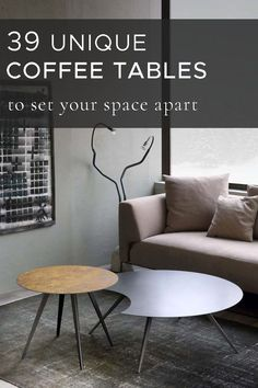 Playing a central role in a living space, coffee table can bring not only a practical but also an artistic value to your home interior. Whether it's a particular style you are looking for or a unique solution to make a bold statement, our ultimate guide will make it easy to pick an ideal coffee table for your taste. Explore our tips and ideas as well as a selection of artisanal coffee tables, handpicked and sorted by shape, style and material for your convenience. Manly Living Room, Living Room Modern, Interior Design Inspiration, Interior Design Living Room, Design Ideas, Unique Coffee Table, Coffee Tables, Decorating Your Home, Interior Decorating
