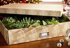 Cómo guardar los adornos de Navidad