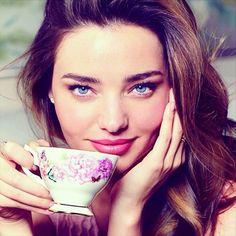 Miranda Kerr designs exclusive Royal Albert china tea set