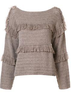 ULLA JOHNSON 'Lordes'毛衣. #ullajohnson #cloth #'lordes'毛衣