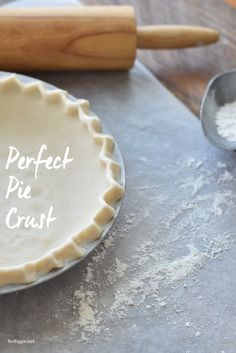 Perfect Pie Crust re