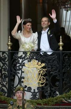 Norwegian Royal Wedding | Norwegian Royal Wedding in Trondheim on May 24th 2002 - After the ...