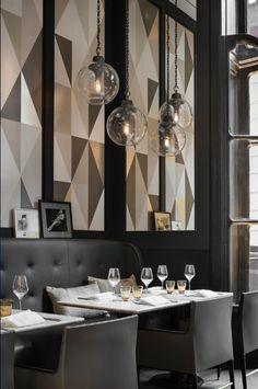 Роскошный интерьер ресторана Café Artcurial
