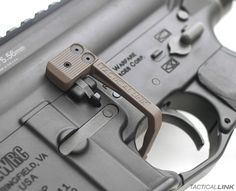Reload & clear stoppages faster - Battery Assist Lever for AR15 by Tactical Link