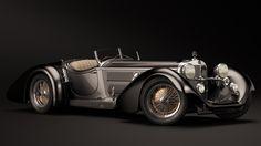 1930 Mercedes-Benz SS Roadster - Erdmann Rossi by nancorocks.deviantart.com on @DeviantArt