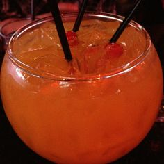 They call this the fishbowl Fishbowl, Delicious Dishes, Round Fish Tank, Fish Bowl Vases, Aquarius