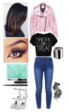 """Perfecto ✅"" by julia-awesome ❤ liked on Polyvore featuring Oscar de la Renta, MANGO, Giuseppe Zanotti, Boohoo, Maria Dorai Raj, MAC Cosmetics and Illamasqua"