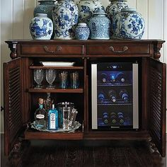 Forsyth Double Bar Cabinet.  Available from Frontgate for $3195 normally 3,955.  Visit at www.frontgate.com