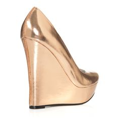 Rose Gold Wedges from JustFab