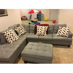 Madison Home USA Reversible Chaise Sectional | AllModern